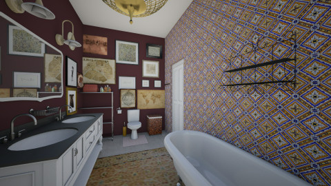 Dream222 - Vintage - Bathroom  - by Ripley86