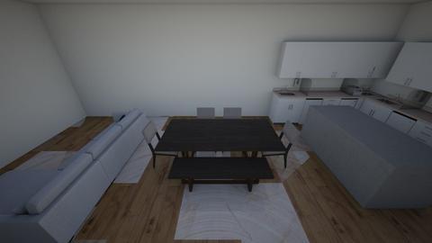 new house floor plan - by KirstyGarrish