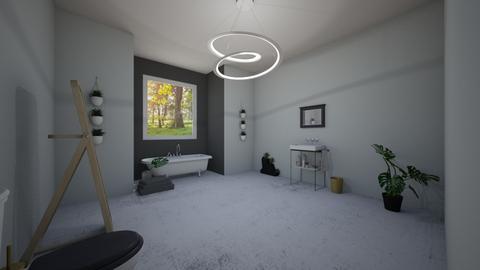 plant bathroom - Bathroom  - by madz29