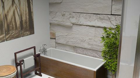 Natural Bathroom - Modern - Bathroom  - by sonya_b