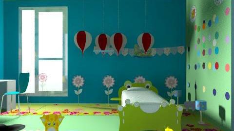 kidsroommmmm - Classic - Bedroom  - by asifgoldpk