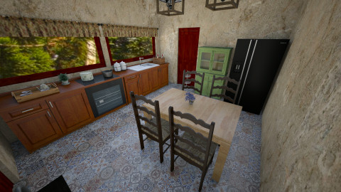 Casa na Serra - Country - Kitchen  - by ladolce88