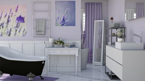 Lavender Bathroom - Bathroom - by Vae Riley
