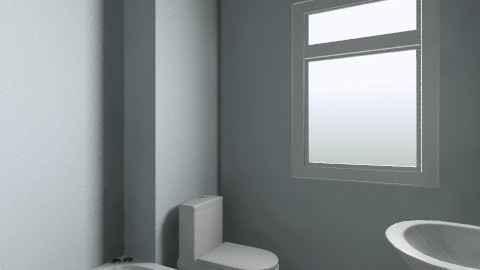 Bathroom redone - Minimal - Bathroom - by emiliabeth