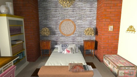 rustic - Rustic - Bedroom  - by unprodigal