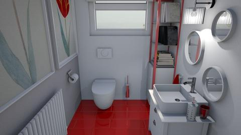 toilet - Modern - Bathroom  - by augustmoon