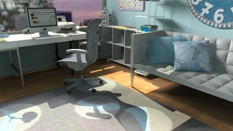 cool office - Modern - Office  - by teen bedroom
