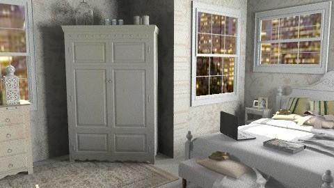 room - Vintage - Bedroom  - by misslynn170