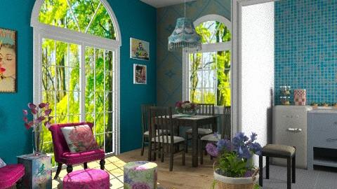 sala da pranzo/cucina - Eclectic - by RobertaS