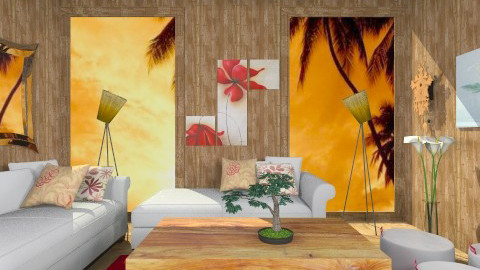 CasaVacanza - Country - Living room  - by Luisy