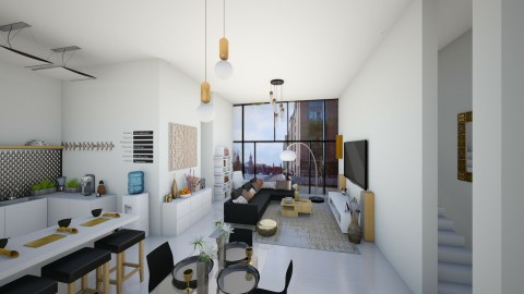 living area - by jennyrose12