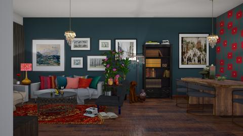 Max  - Vintage - Living room - by janip