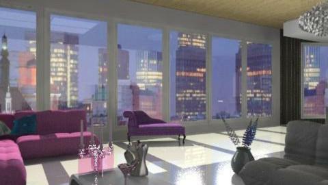 Penthouse living room - Modern - Living room - by stj502