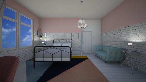 Minimalist remix - Minimal - Bedroom - by PeculiarLeah