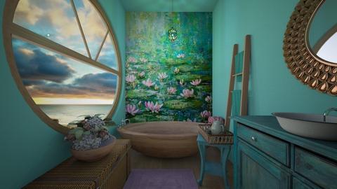 Lily - Bathroom - by daydreamer84