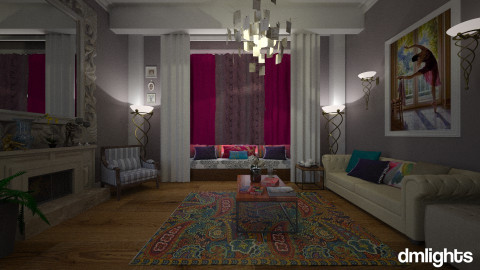 Elegant Brights By Janip - Eclectic - Living room  - by nina50