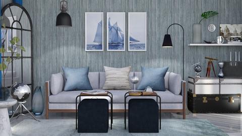 M_ Traveler - Living room  - by milyca8