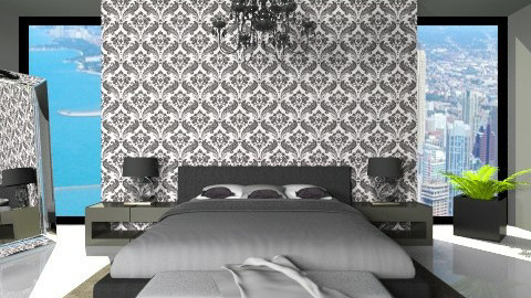 Luxury bedroom - Classic - Bedroom  - by XValkhan