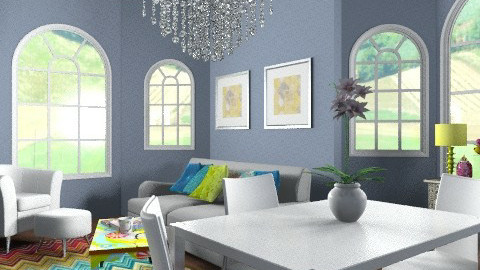 quirky living - Retro - Living room  - by yasemin04