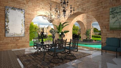 royal - Garden  - by soralobo