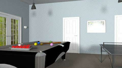 Games Room-Angle 2 - Retro - by coco_pps