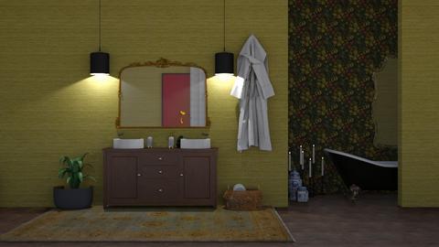 ensuite  - Eclectic - Bathroom  - by bryony_pollock_interiors