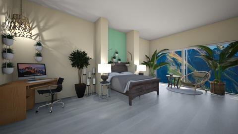 Sage Green Bedroom - Bedroom  - by Maria Rachel