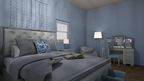 Lilac Bedroom - Feminine - Bedroom - by cinderellagirl7