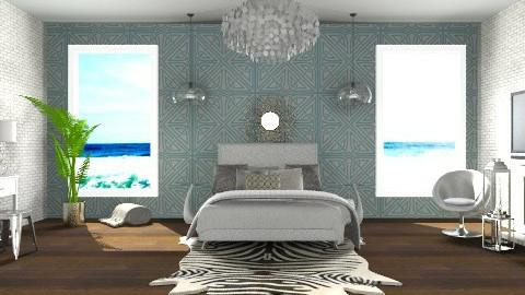 Beach Bedroom - Classic - Bedroom  - by Baustin