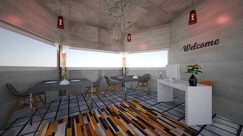 Orange Restaurant - by Haylies_rooms
