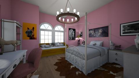 Horsegirl room - Rustic - Bedroom  - by Jojo Bear