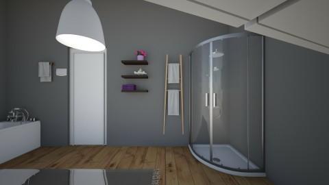 room - Classic - Bathroom - by ilovediy