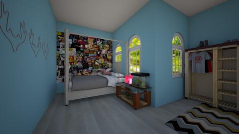 dog bedroom - Minimal - Kids room  - by wolfiewolf123