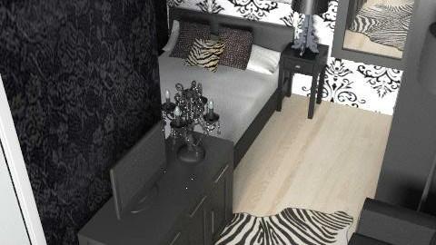 Gígju herbergi - Glamour - Bedroom  - by bridde21