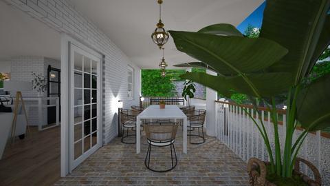 Terrace3 - Garden  - by lovasemoke