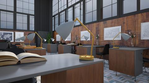 Mid Century Office - Vintage - Office  - by HenkRetro1960