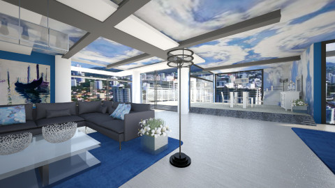 SKYscraper - Modern - Living room  - by Saj Trinaest