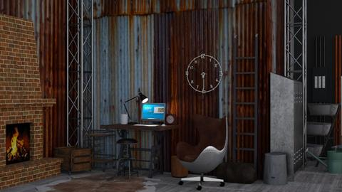 tin shed office  - Office - by TamarK