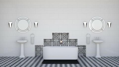 Deco - Retro - Bathroom  - by Kathran