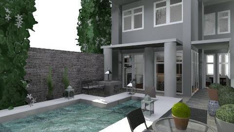 backyard modern - Modern - Garden  - by madisonstreet