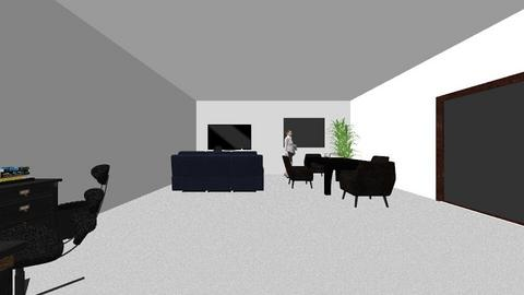 Interiores - Minimal - Living room  - by Janeirus