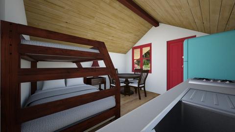 Tiny Cabin 6 - Bedroom  - by SammyJPili