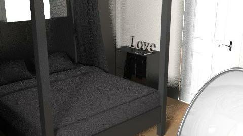 bedroom - Rustic - Bedroom  - by peter_ corfield1