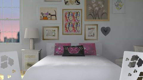 kiss her valentine - Eclectic - Bedroom  - by designerv