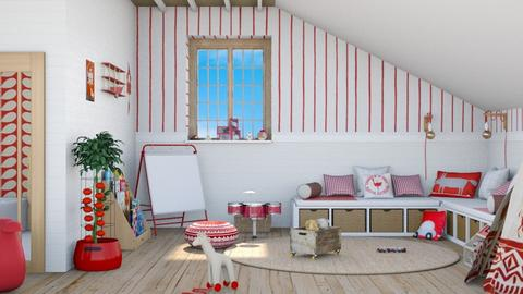 Pepita child bedroom - Kids room  - by Charipis home