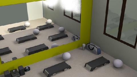 aerobic room - by gyorevera