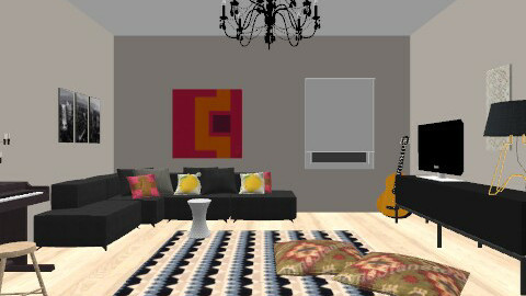 Chill - Eclectic - Living room  - by Kaarina