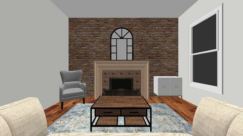 nyc townhome living room - Living room - by ellejay_1207