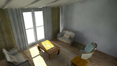 Guest Living Room - Vintage - Living room  - by Elif Dogru