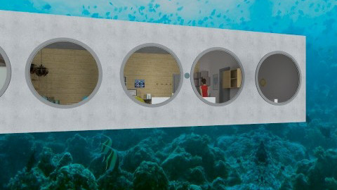 underwater condo - Minimal - by pinniped